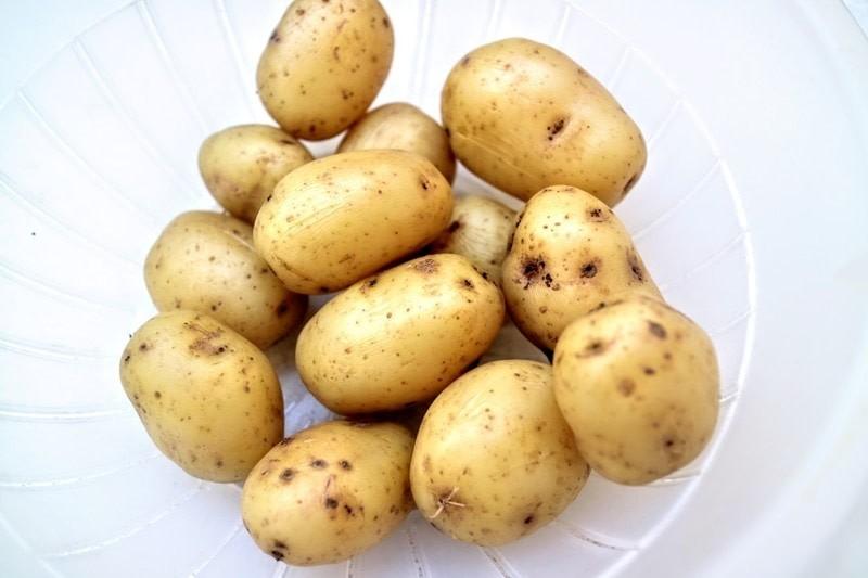 Schwedischer Kartoffel- und Apfelsalat
